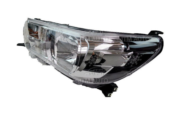 Pair of LHS+RHS Head Lights Suitable For Toyota Hilux SR Workmate 2015-2019