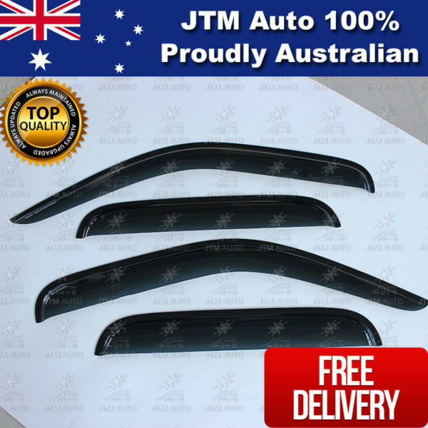 Premium Weathershields Window Visors Shields to suit Toyota Hilux 1997-2005