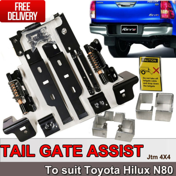PRO-LIFT EASY UP & EASY DOWN TAILGATE ASSIST TO SUITE TOYOTA HILUX N80 2015-2020