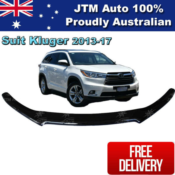 Bonnet Protector Tint Guard suitable for Toyota Kluger 2013-2019