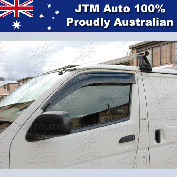 Weather Shields Weathershields WINDOW VISOR suitable for Toyota Hiace 2005-2018