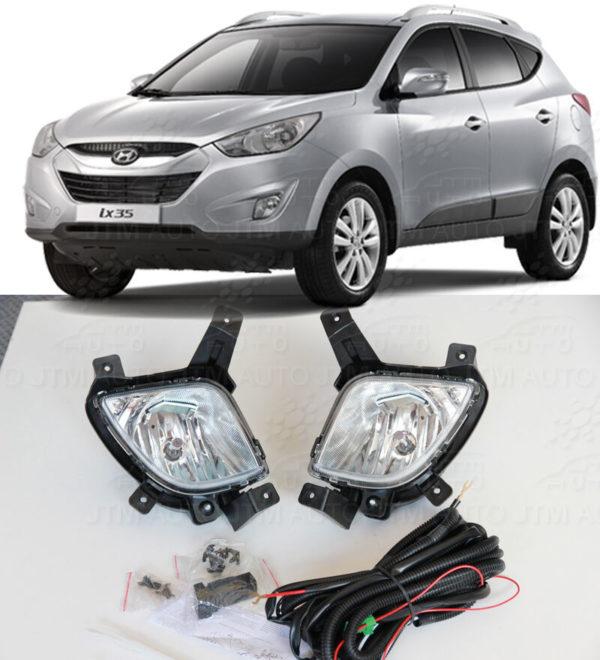 Driving/ Fog Lights Lamps Complete Kit suitable for Mitsubishi Lancer 2007-2013