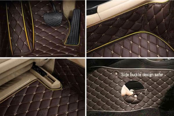 Custom Made to suit Mercedes Benz GLA Floor Mats Front + Rear Black 2014-2019