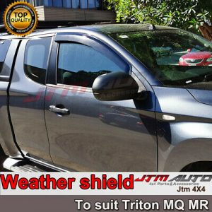 Heavy Duty Steel Black Off road Side Steps suit Holden Colorado Extra Cab 2012+
