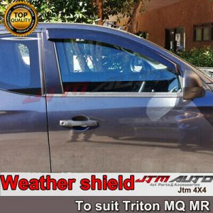 Heavy Duty Steel Black Off road Side Steps suit ISUZU D-max Extra Cab 2012-2020