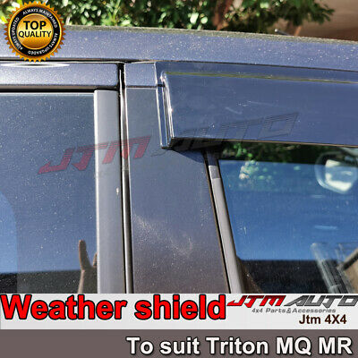 Universal Black Roof Rack Roof Basket (Flat) to suit Toyota Ranger PX 2012-2021