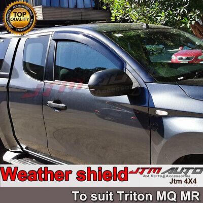 """3 X 4"""" Black Aluminium Heavy Duty Roof Racks For Gutter Rail Mount Vehicles"""