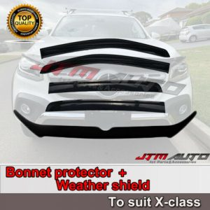 Bonnet Protector + Weathershields to suit Mercedes Benz X-class