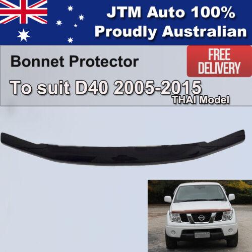 Bonnet Protector to suit Nissan Navara D40 2005-2015 Thai Model