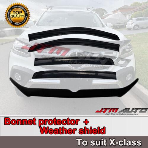 Bonnet Protector + Weathershields to suit Mercedes Benz X-class