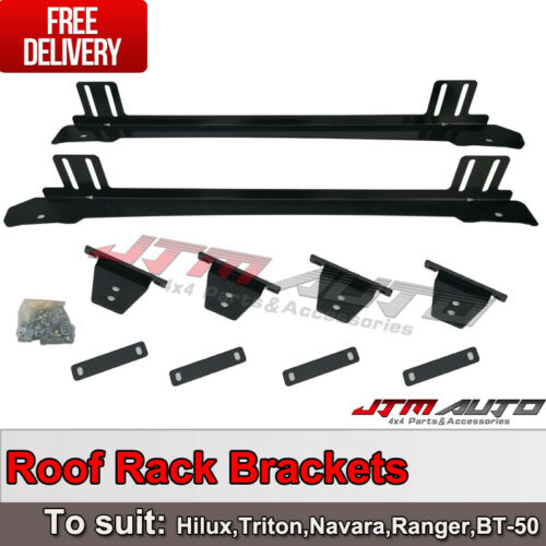 Roof Rack Brackets roof channel to suit Hilux Triton Ranger D-Max Navara BT-50
