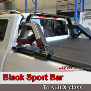 Black Roll Sport Bar to suit Mercedes Benz X-class 2018-2020