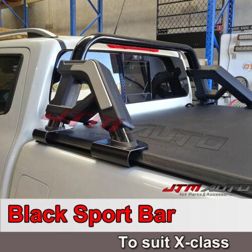Black Roll Sport Bar to suit Mercedes Benz X-class 2018-2020