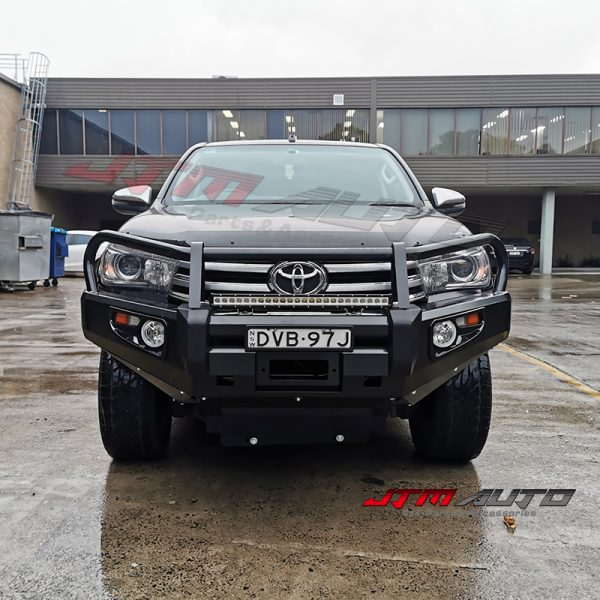 ADR ARRPOVED BULL BAR WINCH BAR to suit 2015 -2018 Toyota Hilux