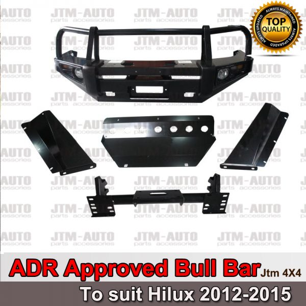 ADR ARRPOVED BULL BAR WINCH BAR To Suit 2011 -2014 Toyota Hilux