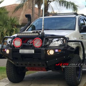 ADR ARRPOVED BULL BAR WINCH BAR To Suit 2005-2011 Toyota Hilux