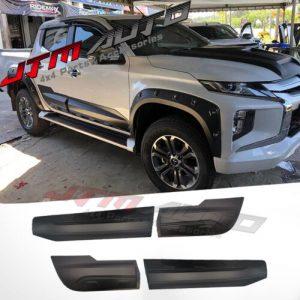 NEW Side Door Body Molding Cladding Trim to suit Mitsubishi Triton MQ MR 15-21