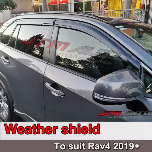 Premium Weathershield Weather Shield WINDOW VISOR to suit Toyota Rav4 2019+