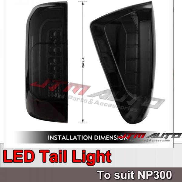 Smoke LED Tail light to suit Navara NP300 2014-2020