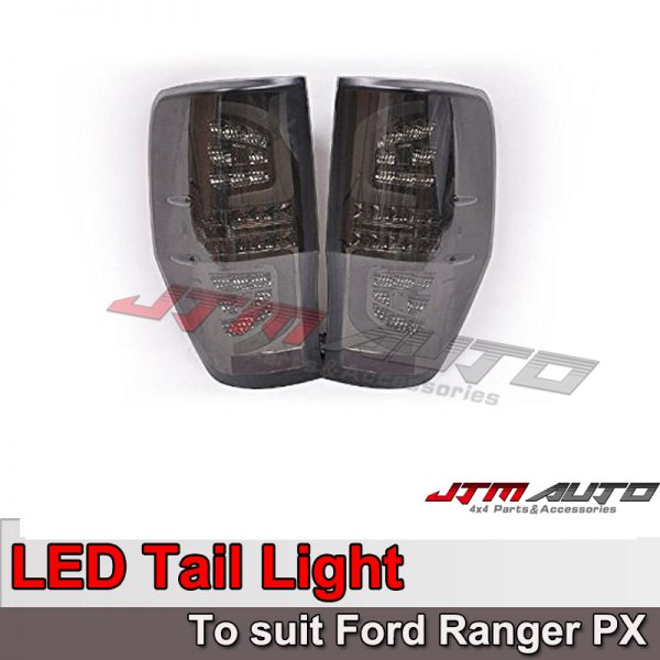 Smoke LED Tail light to suit Ford Ranger PX 2012-2020