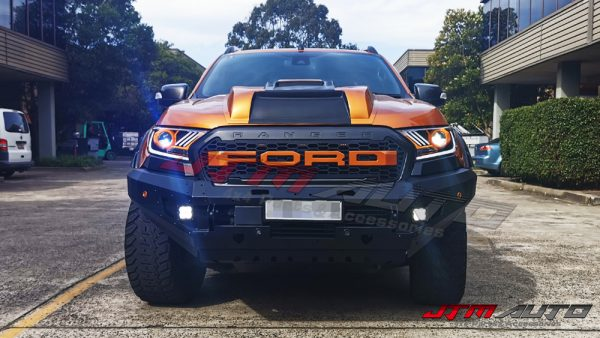 Head Light LED Projector Daytime Mustang Style For Ford Ranger PX
