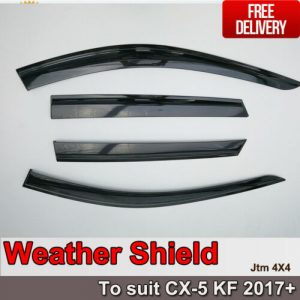 Weather Shield Weathershields WINDOW VISOR to suit Mazda CX-5 CX5 2017-2021