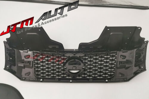 Matt Black NISMO Style Grill Grille to suit Nissan Navara NP300 D23 2015- 2020