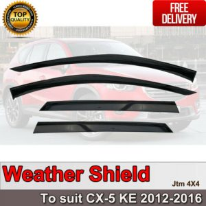 Weather Shield Weathershields WINDOW VISOR to suit Mazda CX-5 CX5 2012-2016