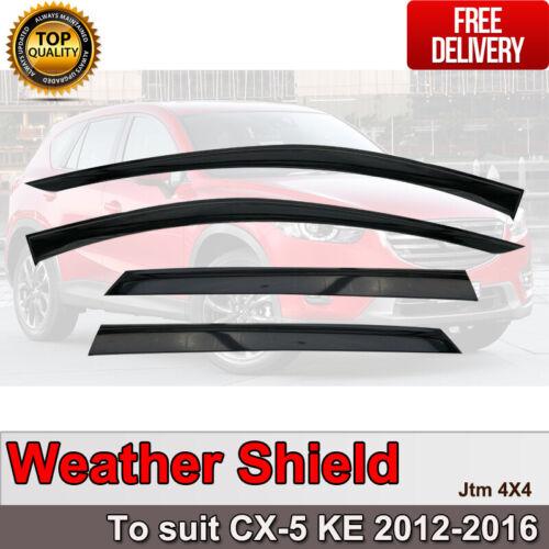 Weather Shield Weathershields WINDOW VISOR to suit Mazda CX-5 CX5 2012-2016