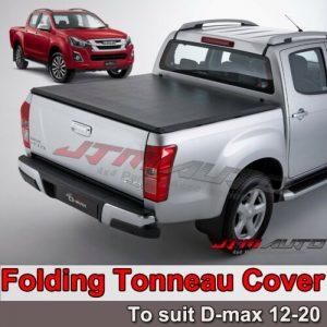 Tri-Fold Folding Soft Tonneau Cover to suit Isuzu D-max Dmax 2012-2020 Dual Cab
