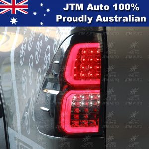 Smoked Full LED Tail Lights for TOYOTA HILUX 2015-2019