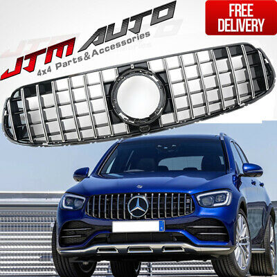 OEM GT AMG Style Bumper Grille Grill to Suit Mercedes-Benz GLC X253 C253 2019+