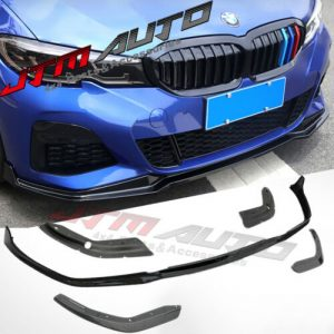 GT Performance M Sport Style Front bumper bar lip to suit BMW 3 Series G20 G21