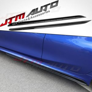 GT Performance Gloss Black Side Skirt Lip suit BMW 3 Series G20 320 330 340