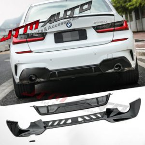 GT Performance M Sport Style Rear bumper bar diffuser for BMW 3 Series G20