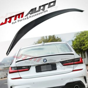 Gloss Black GT M Sport Style trunk boot lip Spoiler Wing for BMW 3 Series G20