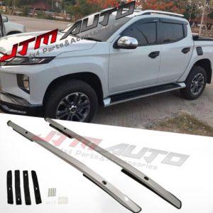 Aluminium roof racks roof rails to suit Mitsubishi Triton MQ/MR dual cab 2015+