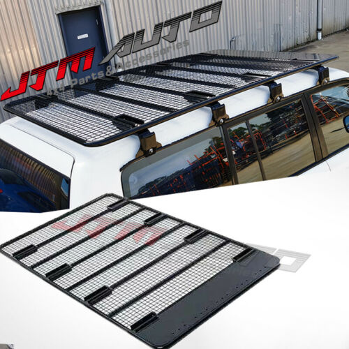 Steel Flat Heavy Duty Roof Rack Roof Basket to suit Toyota Landcruiser 60 70 80