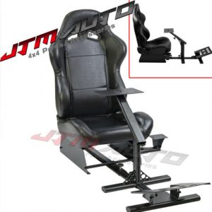 Racing Simulator Cockpit Gaming Chair W/ Stand for Logitech G27/G29/G920/T500RS