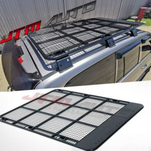 Steel Flat Heavy Duty Roof Rack Roof Basket to suit Toyota Landcruiser 100 Serie