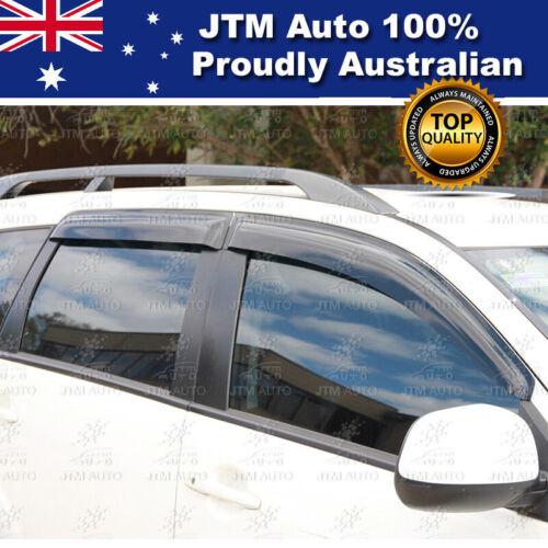 Premium Weathershields Shield Window Visors Suits Mitsubishi Outlander 2006-2012