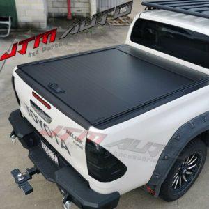 Flat Roller Shutter Tonneau Hard Lip to suit Toyota Hilux SR5 Dual Cab 2015-2021
