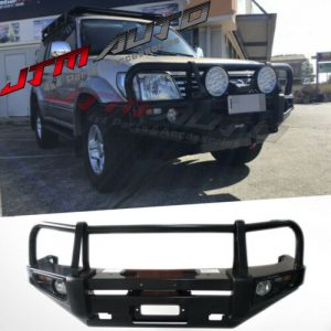 ADR APPROVED BULL BAR WINCH BAR To Suit Toyota Prado 90 series