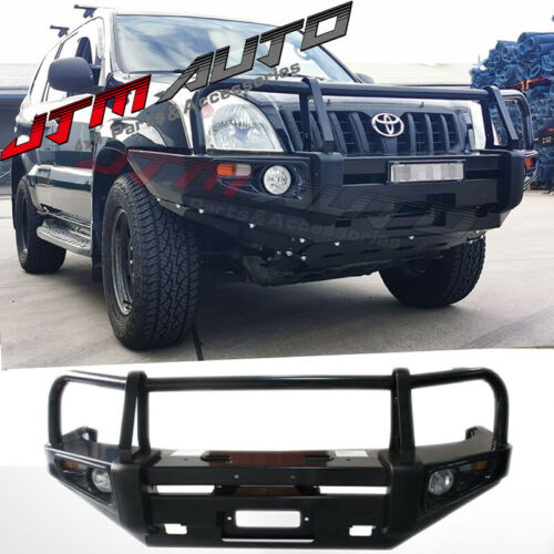ADR APPROVED BULL BAR WINCH BAR To Suit Toyota Prado 120 Series 2003-2009