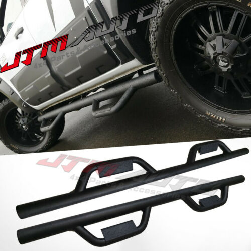 Heavy Duty Double Steel Side Step Running Board to suit Ford Ranger PX 2012+