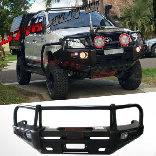 ADR APPROVED BULL BAR WINCH BAR To Suit Toyota Hilux 2005 - 07/2011