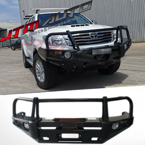 ADR APPROVED BULL BAR WINCH BAR To Suit Toyota Hilux 2011 - 2014