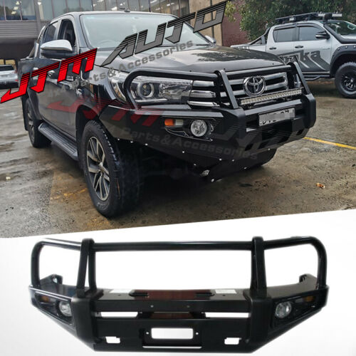 ADR APPROVED BULL BAR WINCH BAR To Suit Toyota Hilux N80 2015-2018