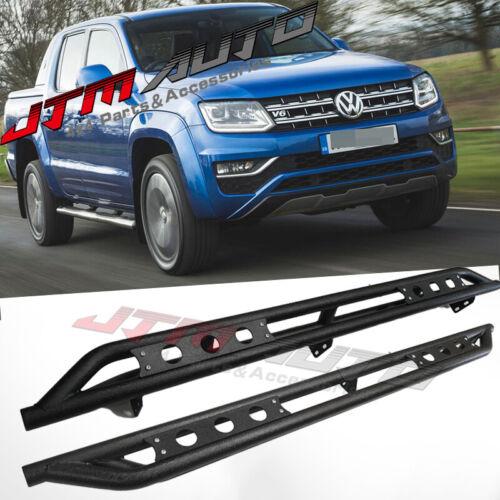 Heavy Duty Armor Steel Off road Side Steps to suits Volkswagen VW Amarok 2010+