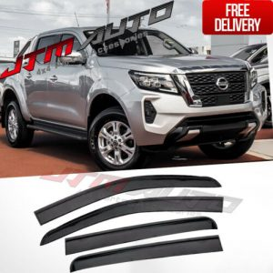 Injection Weathershields Weather Shields fits Nissan Navara NP300 D23 2021+